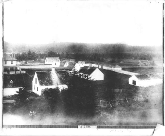 En 1725 le fort Michipicoten est érigé au nord-est du lac Superieur.