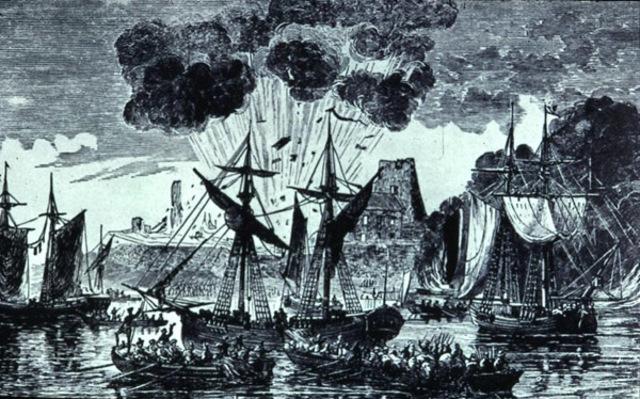 En 1758 le lieutenant-colonel John Bradstreet prend le fort Frontenac des Francais.