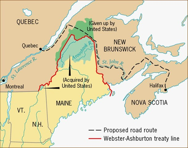 Effects of Maine Territorial Disputes