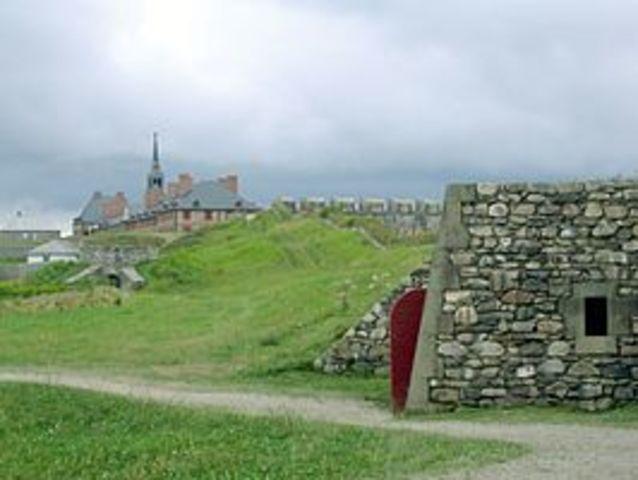 La forteresse de Louisbourg