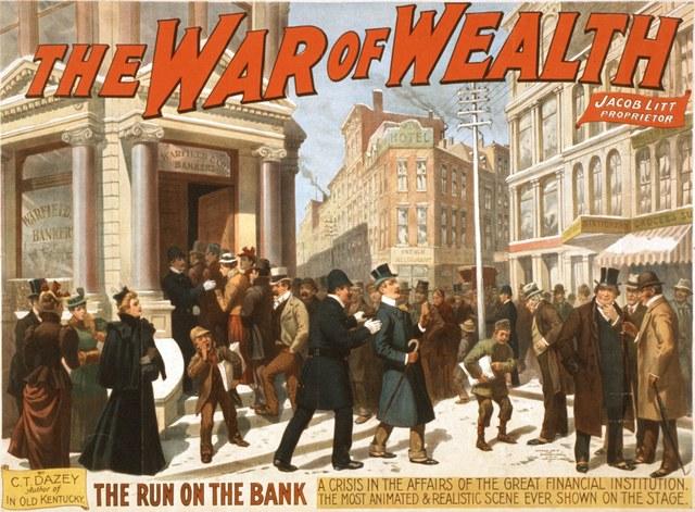 The Bank War (Time Span Below)
