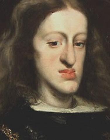 La mort du roi d'Espagne