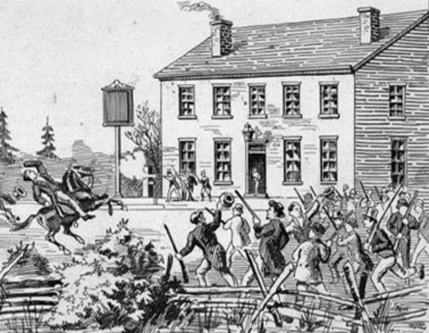 Mackenzie and Papineau Lead Rebellions - WB