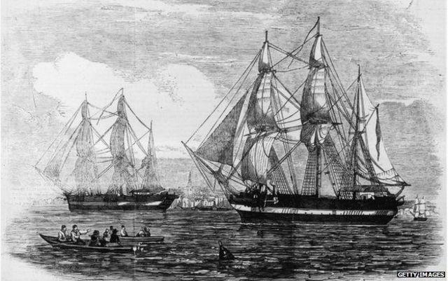 John Franklin and Crew Disappear - DE
