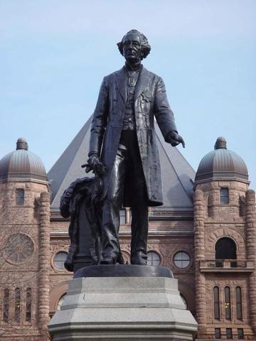 John A Macdonald is Chosen to Represent the Legislative Assembly - GPM