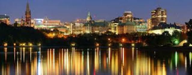 Ottawa becomes Capital - CS
