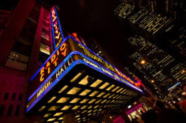 Visitando el Radio City Music Hall