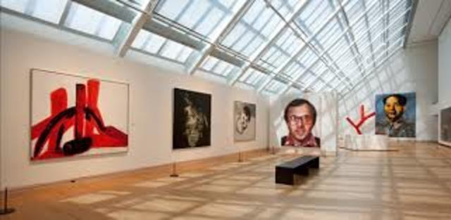 Visitando el Museo de Arte Moderno