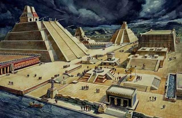 Tenochtitlan built