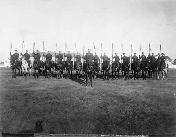 Canadian Troops Sent Overseas to the Boer War - WB