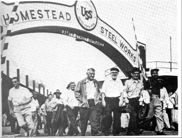 Homestead Steelworks strike