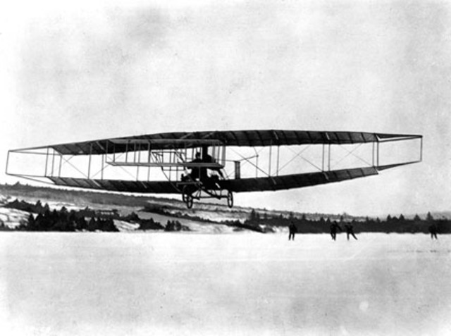 Canada's First Powered Air Flight - NE