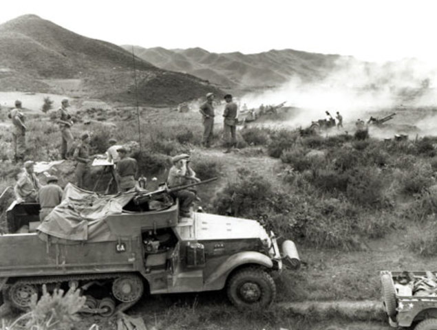 Canadian Army helps United Nations fight in the Korean Conflict  - WB