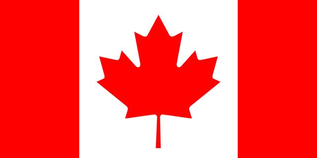 New Canadian Maple Leaf Flag - NE