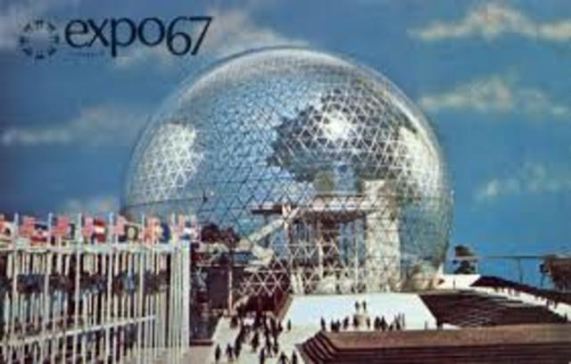 Expo '67 Opened in Montreal - PN