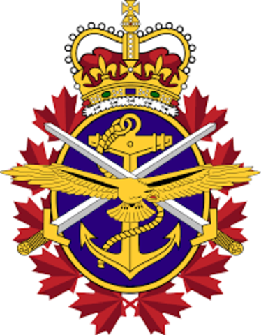 Canadian Armed Forces is Established - WB