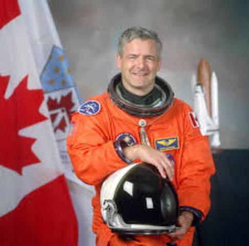 Marc Garneau is the Frist Canadian in Space - NE