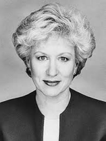 Kim Campbell is the First Female Prime Minister - GPM