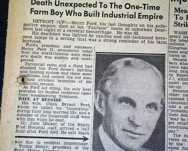 Death date: April 7th, 1947