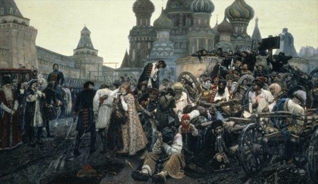 Rebellion of the Streltsy