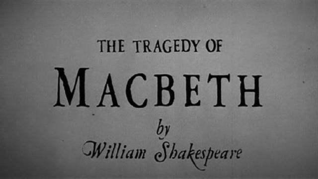 Macbeth is Written