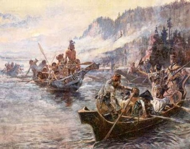 Lewis and Clark Expedition Begins