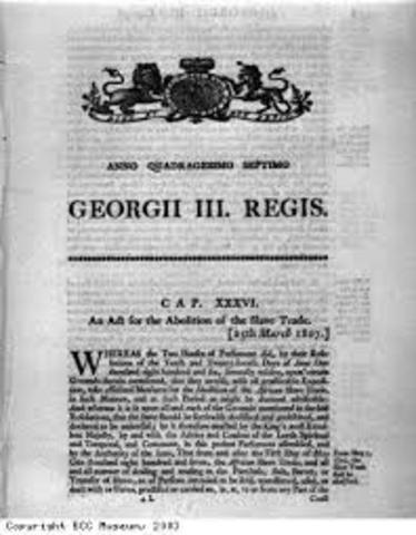Slave Trade Act 1807