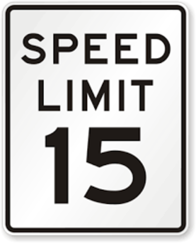 First Speed Limits for Cars