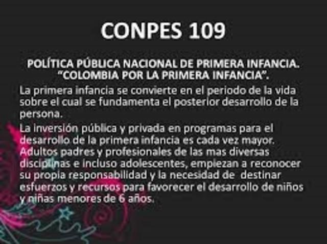 CONPES 109