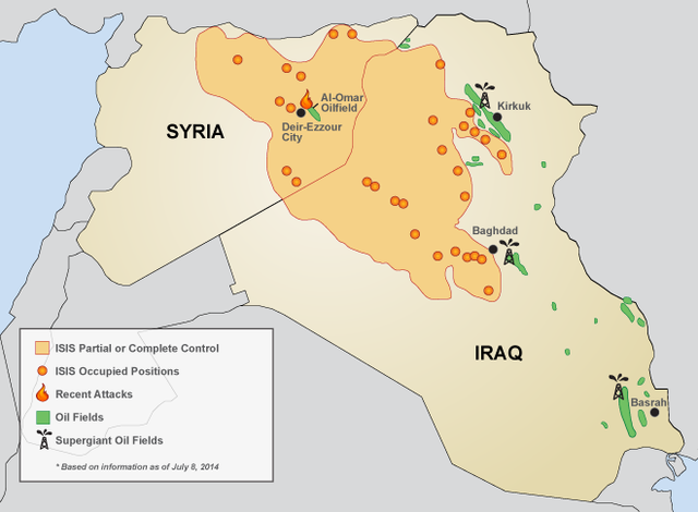 ISIS Demanding and Taking Power