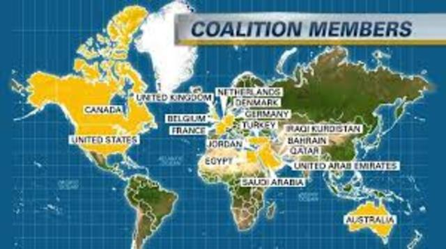 U.S. Builds Coalition Against ISIS's Large Numbers