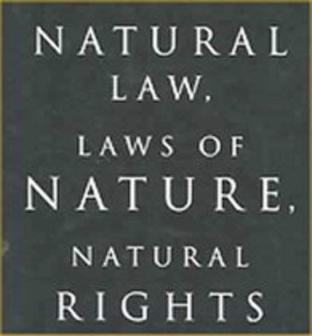 Essay on the law of nature