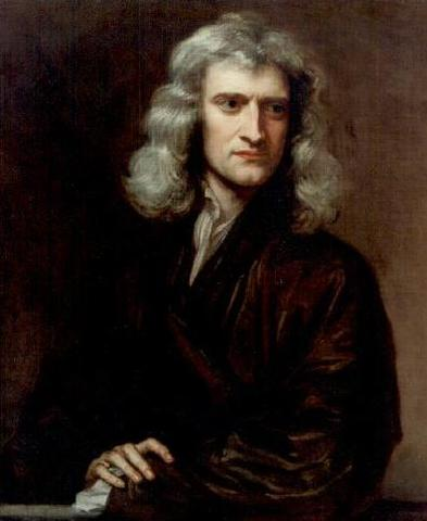 Newton discovers first law of motion