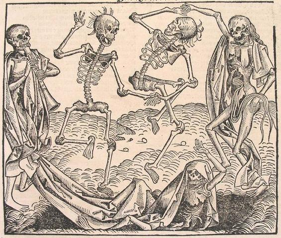 Plague strikes England