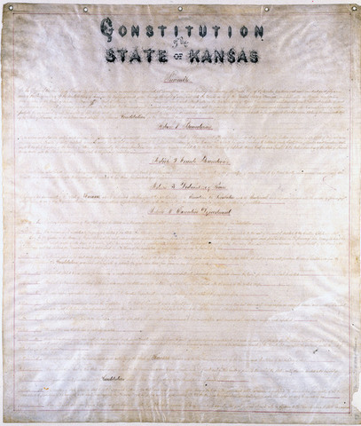 Lecompton Constitution rejected by Congress