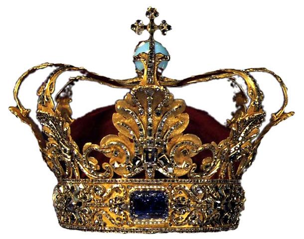 Crowned king at 17