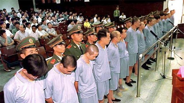Massive public execution