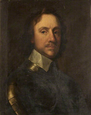 Oliver Cromwell begins leading the Puritans in the war