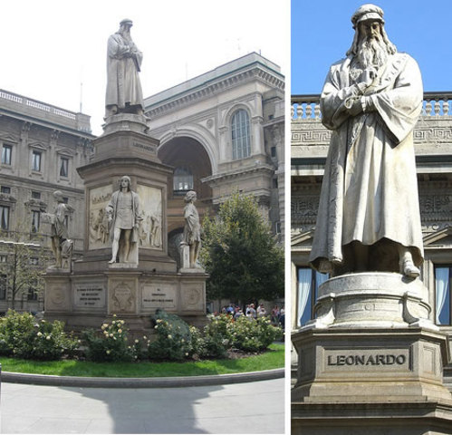 Leonardo da Vinci Travels to Milan