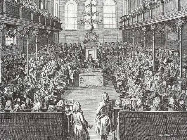 Cromwell sends home remaining members of Parliament