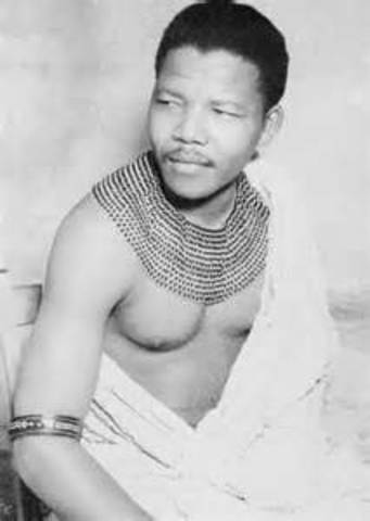 Nelson Mandela's Birth