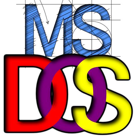 AÑOS 80, MS-DOS