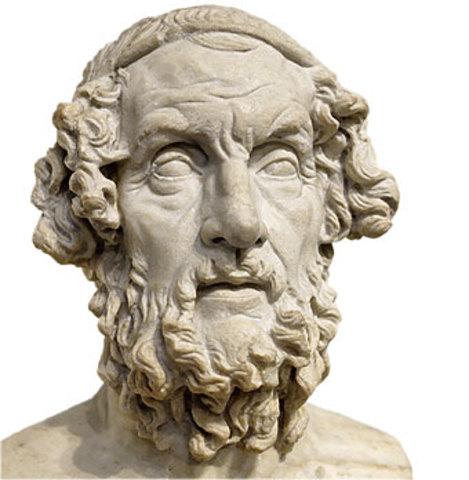 Iliada y Odisea 850A.C
