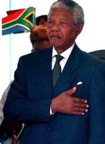 Inaugrauted as President of South Africa