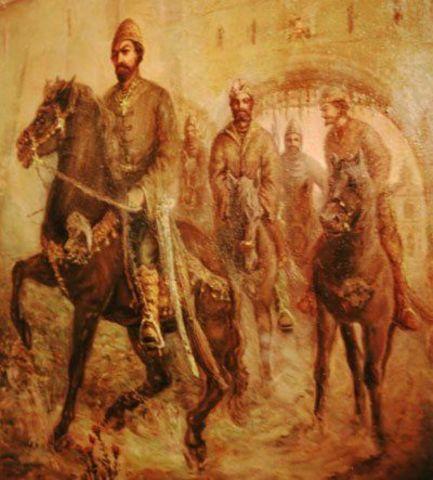 Ivan Establishes the Oprichnina