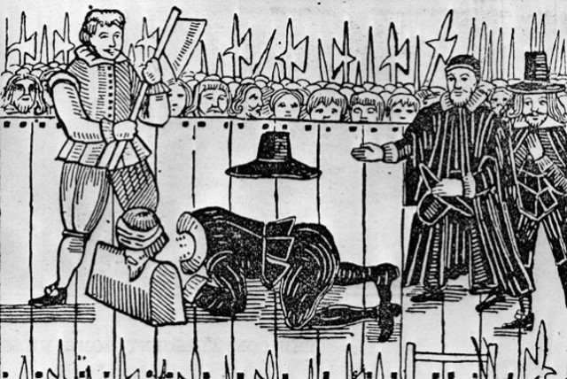Execution of King Charles I