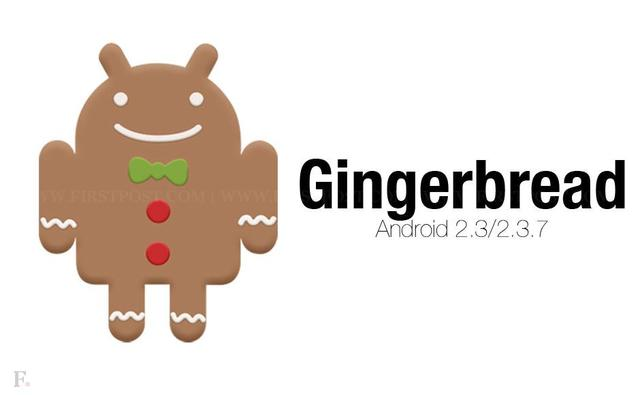 Android 2.3.x Gingerbread