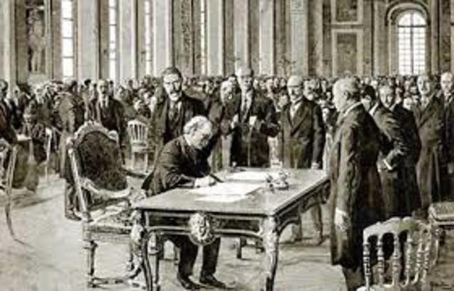 Treaty of Versailles 1919