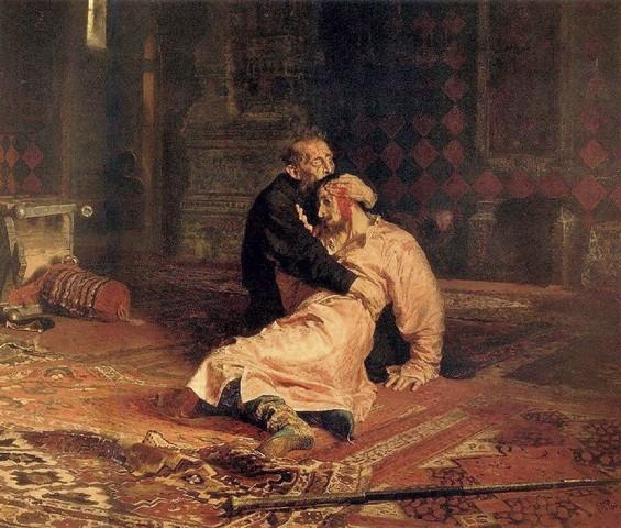 Ivan Kills His Own Son
