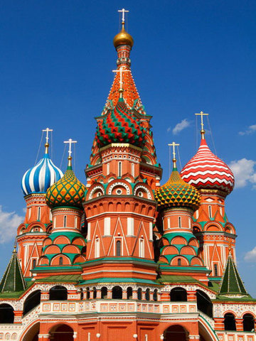 Ivan Has the St. Basils Cathedral Is Built